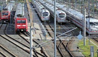 Schwierige Bahn-Tarifrunde für Lokführer wird fortgesetzt. (Foto)