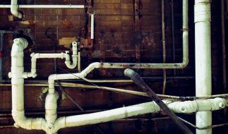 Abwasserleitung defekt? Steuerpflichtige können die Kosten für eine Reparatur von der Einkommenssteuer absetzen. (Foto)