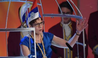 Als Putzfrau Gretel durfte die saarländische Ministerpräsidentin nicht kommen. (Foto)