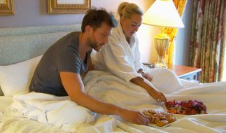 Oliver und Carolin haben die Nacht zusammen im Hotelzimmer verbracht. (Foto)