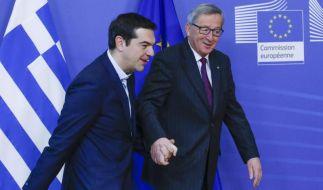 Tsipras spricht mit Juncker über Schuldenentlastung (Foto)