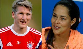 Bastian Schweinsteiger und Ana Ivanovic stehen endlich zu ihrer Liebe. (Foto)