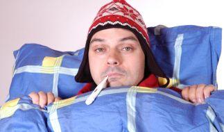Die Symptome einer echten Grippe sollte man kennen. (Foto)
