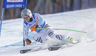 Der Deutsche Josef Ferstl schied beim Super-G-Rennen in Kvitfjell aus. (Foto)