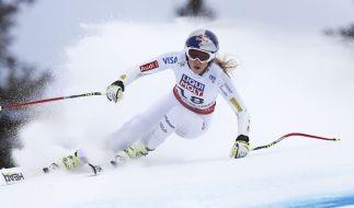 Lindsey Vonn peilt in der alpinen Ski-WM 2015 Abfahrts-Gold an. (Foto)