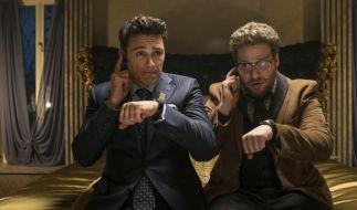 Dave Skylark (JAMES FRANCO) und Aaron Rapoport (Seth Rogen) haben die einmalige Chance, Kim Jong-un zu interviewen. (Foto)