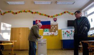 Referendum gegen Homosexuellenrechte in Slowakei gescheitert (Foto)