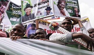 Wahl in Nigeria wegen Boko Haram verschoben (Foto)