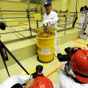 Rostende Atommüll-Fässer in Brunsbüttel werden geborgen (Foto)