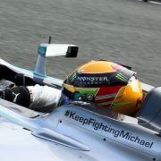 Schriftzug gelöscht! Wurde Schumi von Mercedes aufgegeben? (Foto)