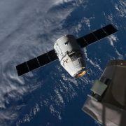 Raumfrachter «Dragon» im Pazifik gelandet (Foto)