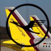 Piloten bestreiken Germanwings zwei Tage lang (Foto)