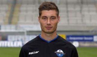 Christian Strohdiek vom SC Paderborn 07 wurde bei einem Autounfall verletzt. (Foto)