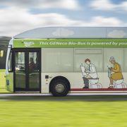 Dieser Bus wird mit Kot betrieben (Foto)