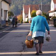 Regierung: Oft längere Wege zum Supermarkt auf dem Land (Foto)