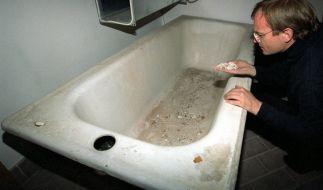 Ein Bild der einstigen Hitler-Badewanne: Sie steht in der Hochschule für Musik und Theater München. (Foto)