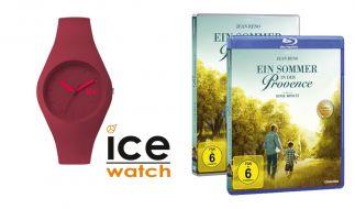 """Gewinnen Sie zum Heimkinostart von """"Ein Sommer in der Provence"""" mit Jean Reno ein Fanpaket mit Ice Watch Uhr und einer DVD des Films. (Foto)"""