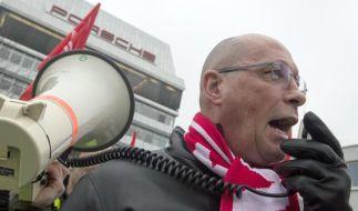 Porsche-Betriebsrat Hück erwartet Urabstimmung im Tarifstreit (Foto)