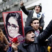 Proteste nach Mord an Studentin in der Türkei (Foto)