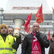 IGMetall trommelt zu Warnstreiks bei Porsche (Foto)