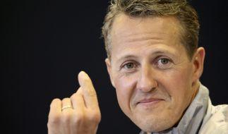 Michael Schumacher absolviert nach seinem Ski-Unfall noch immer eine Reha zu Hause. (Foto)