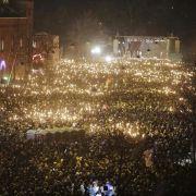 Zehntausende trauern um Terroropfer von Kopenhagen (Foto)
