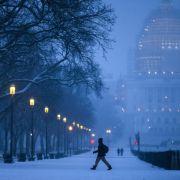 Wintersturm trifft Osten der USA (Foto)
