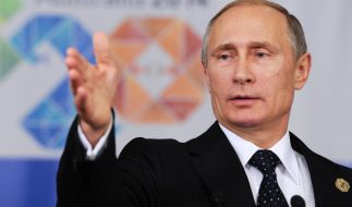 Wladmir Putin gibt sich trotz seiner 62 Jahre gerne jung und dynamisch. (Foto)