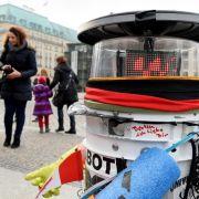 Roboter ohne «Promi-Bonus» scheitert am Reichstag (Foto)