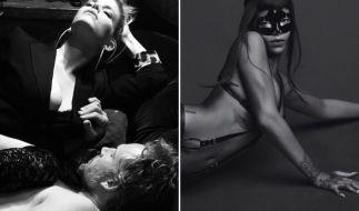 """Jessica Simpson (links) und Rihanna machen aus ihrer Vorlieb für """"Fifty Shades of Grey"""" keinen Hehl. (Foto)"""