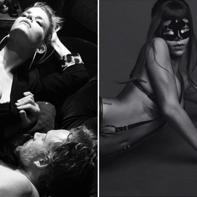 Im Fetisch-Look und ohne Photoshop: Rihanna und Cindy heiß wie nie (Foto)