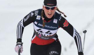 Die Weltcup-Zweite Denise Hermann aus Oberwiesenthal. (Foto)
