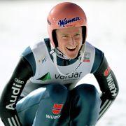 Mixed-Skispringen: Gold für Severin Freund und Carina Vogt (Foto)