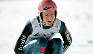 Schanzen-Ass Freund holte die Silber-Medaille auf der Normalschanze. Wird es im Mixed-Wettbewerb vielleicht sogar Gold? (Foto)