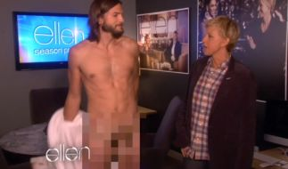 "Ashton Kutcher besitzt eine ""Penis-Prothese"". (Foto)"