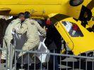Nach einem heftigen Unfall musste Fernando Alonso ins Krankenhaus geflogen werden. (Foto)