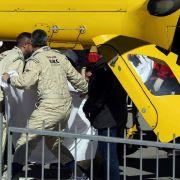 Formel-1-Star Alonso nach Crash im Krankenhaus (Foto)