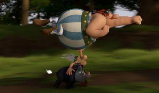Können Asterix und Obelix die fiesen Pläne Cäsars durchkreuzen? (Foto)