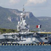 Frankreich setzt Flugzeugträger gegen IS-Miliz ein (Foto)