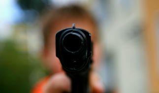 Immer wieder erschüttern tragische Schusswaffen-Unfälle die USA. (Foto)