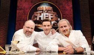 Drei Sterneköche suchen Deutschlands Kochtalent. (Foto)