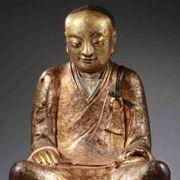 In dieser Buddha-Statue steckt ein echter Mensch! (Foto)