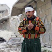 Fassbomben-Einsatz: Aktivisten fordern Waffenembargo in Syrien (Foto)