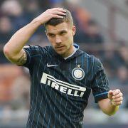 So sehr leidet Lukas Podolski bei Inter Mailand (Foto)