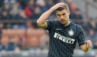 Harte Kritik der italienischen Presse für Lukas Podolski. (Foto)