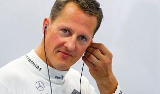 Über den aktuellen Zustand von Michael Schumacher dringt nur wenig an die Öffentlichkeit. (Foto)