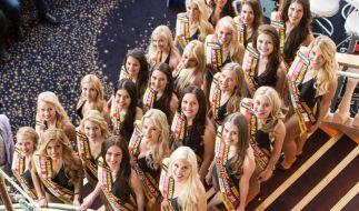 24 Kandidatinnen traten um den Titel Miss Germany 2015 an. (Foto)