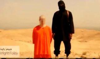 Screenshot eines Videos, das von der Terrormiliz Islamischer Staat (IS) aufgenommen worden sein soll und angeblich die Enthauptung des US-Fotografen James Foley zeigt. (Foto)