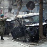 Selbstmordanschlag auf hohen Nato-Vertreter in Kabul (Foto)