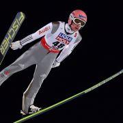 Deutsche Skispringer verpassen Podest im Teamwettbewerb (Foto)